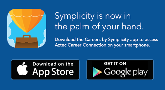 Aztec Career Connection mobile app