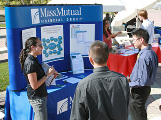 photo: career fair