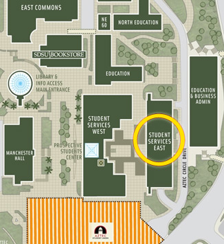 Location, Hours and Appointments | Student Affairs | SDSU