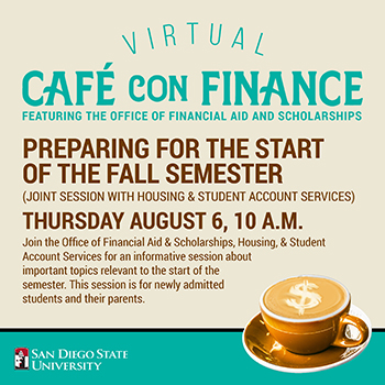 Coffee Hour: Preparing for the start of the fall semester -aug 6 at 10 am