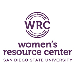 women's resource center round logo in purple
