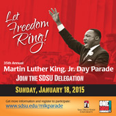 Let Freedom Ring - Martin Luther King, Jr. Day Parade