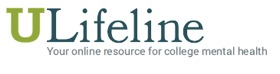 Logo ulifeline: your online resource for college mental health