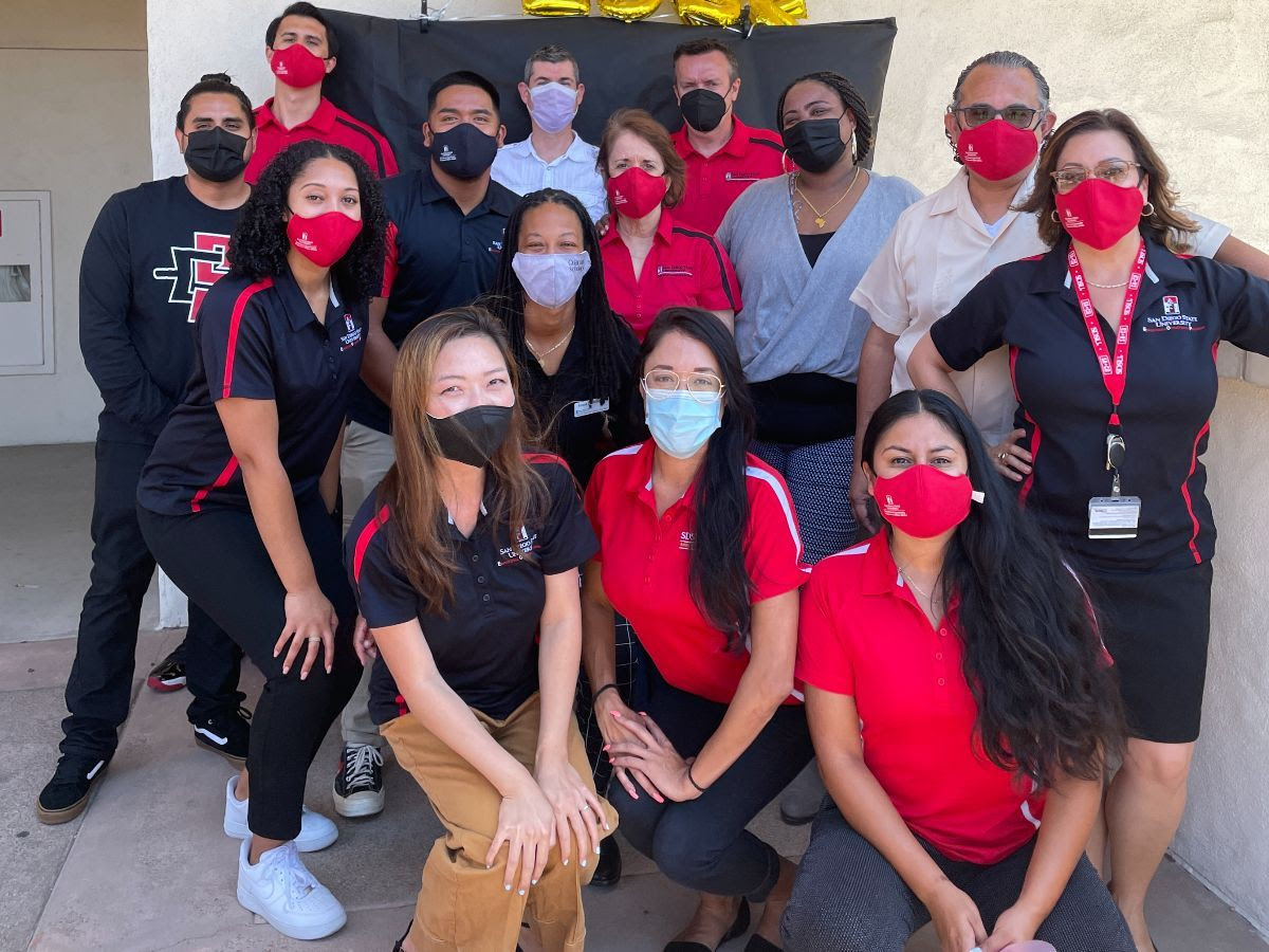 EOP Team Picture during SDSU Welcome Week, 2021