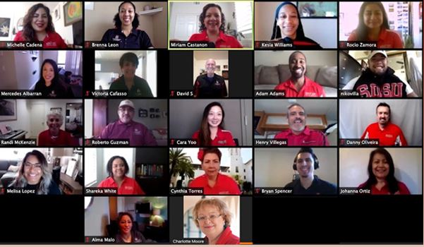 EOP Staff Virtual Picture Collage.