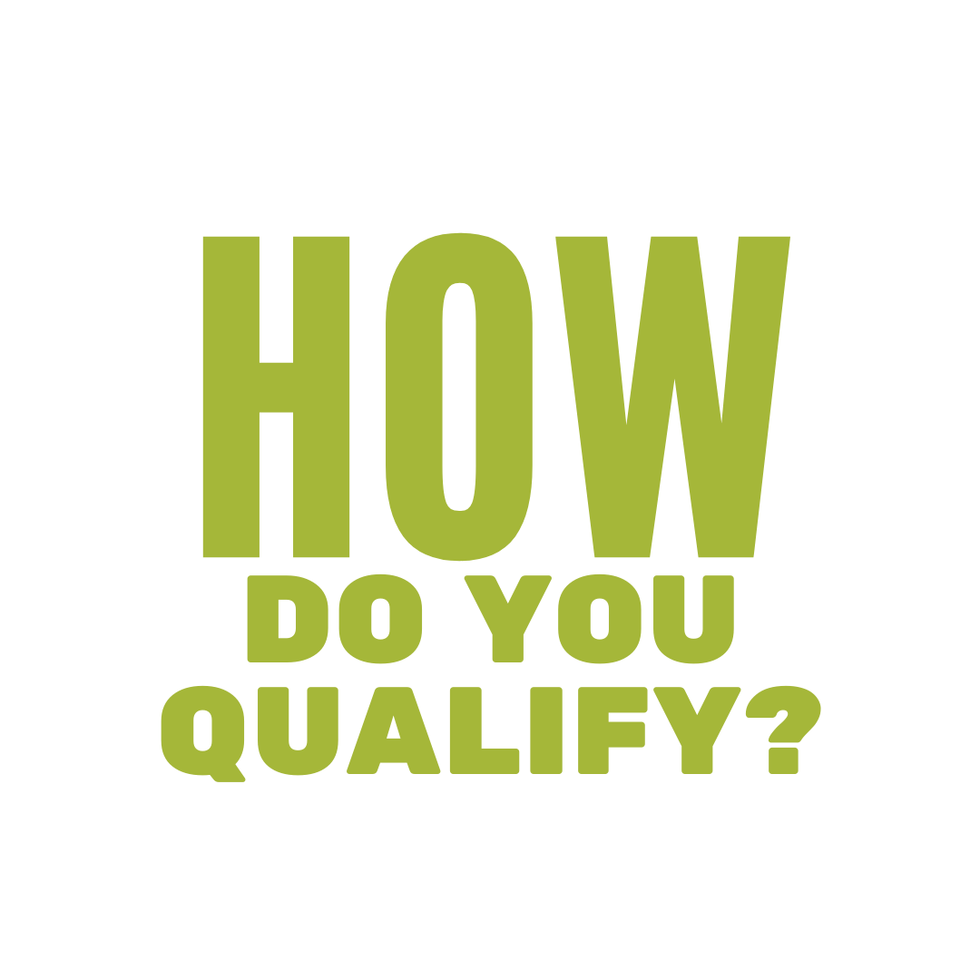 large text stating how do you qualify for calfresh