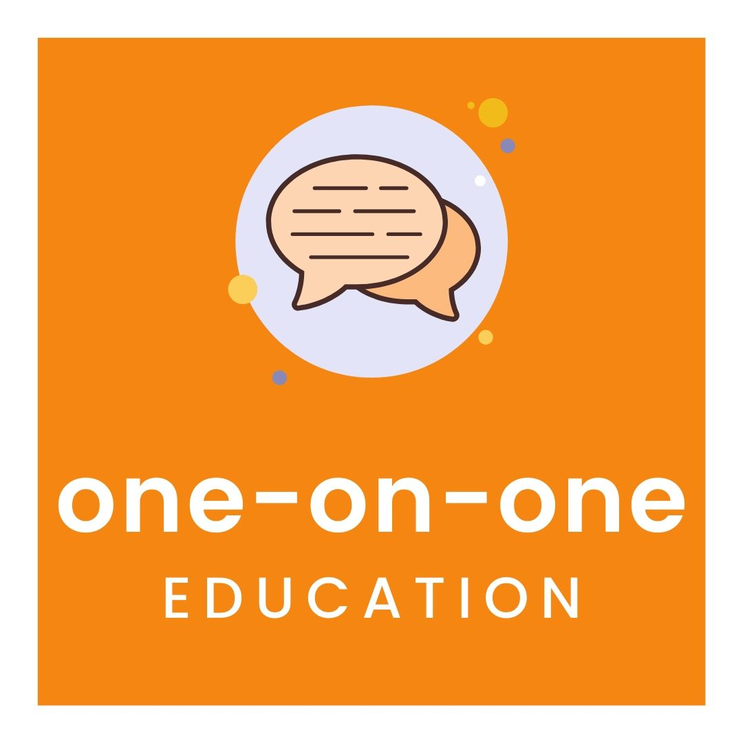For a one-on-one education session click here